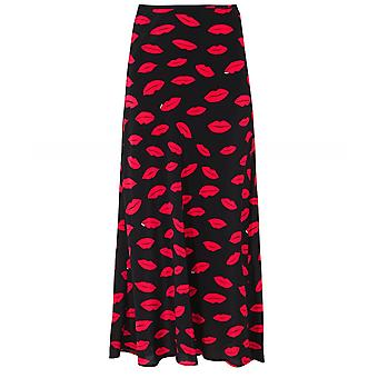 RIXO Kelly Silk Slip Skirt