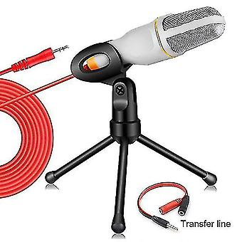 Microphones condenser microphone kit home karaoke mic with desktop stand microphone for pc youtube video