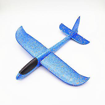 Flying Glider Kinder Handgefertigtes Spielzeug Schaumstoff Flügel Basteln Mini-Flugzeug Kinderspielzeug Größe 48cm-b