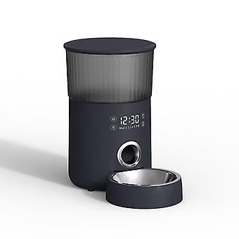 Iseebiz 3l אוטומטי חתול מאכיל כלב מזון מתקן עם מצלמה תמיכה הקלטה קולית, בקרת אפליקציה 8 פעמים יום אחד אביזרים לחיות מחמד