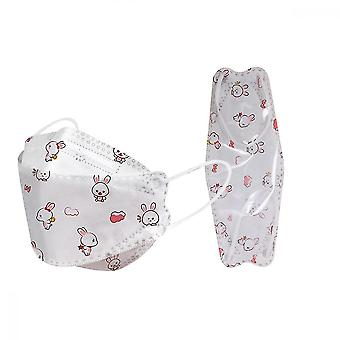 50 Pack Kinder Einweg-Gesichtsmaske, atmungsaktiv und bequem Anti-Staub