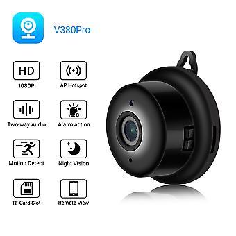 Caméra espion 1080p Hd Mini Wifi Smart Security Camera Détection de mouvement