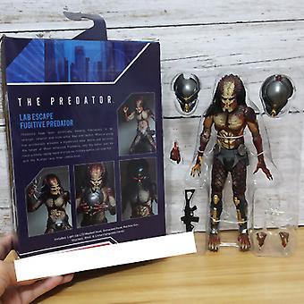 Qian Predator 2018 Película Versión de lujo Móvil Iron War Modelo alienígena Figura de toy