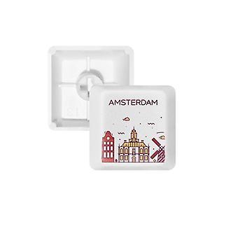 Amsterdamin keycap-näppäimistö