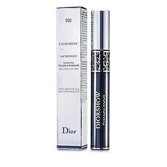 Christian Dior Diorshow Mascara vanntett og # 090 svart - 11.5ml/0.38oz