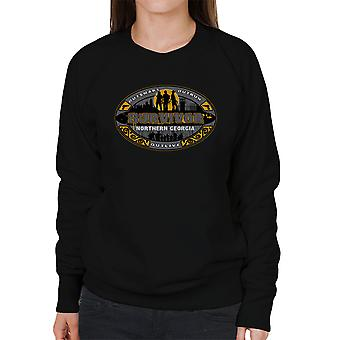 Outrun Outsmart Outlive Survivor North Georgia Walking Dead Women's Sweatshirt