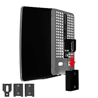 Montaggio a parete portatile Vebos Sonos Play 3 nero