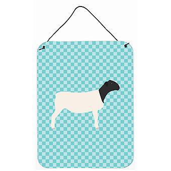 Mouton Dorper bleu cocher mur ou porte accrocher impressions