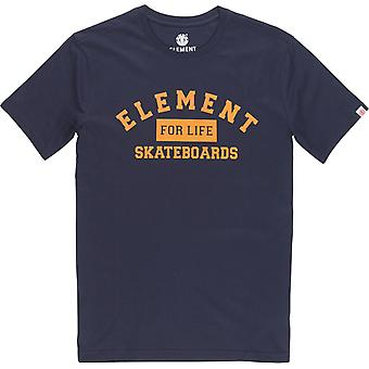 Element For Life Short Sleeve T-Shirt in Eclipse Navy