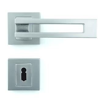 Premium Quality M4TEC ZA6 Interior Door Handle – Made Of Die-Cast Zinc – Gloss Chrome-Plated Finish – Sturdy, Durable & Easy To Install – Elegant & Classy Design - Ideal For Room Entrance Doors