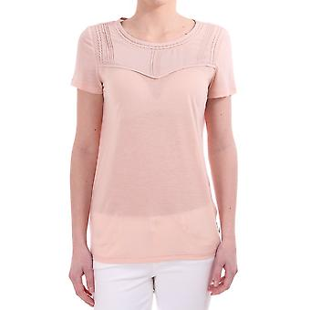 Maison Scotch Jersey Top With Pintuck Details