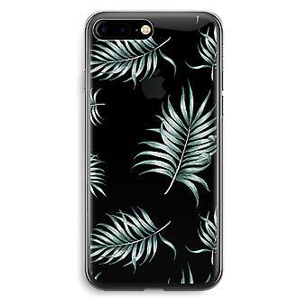 iPhone 7 Plus transparentes Gehäuse (Soft) - einfache Blätter