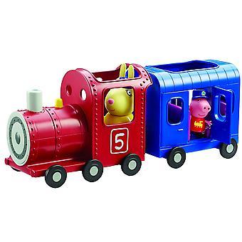 Peppa Pig Miss kaniner tog og transport legetøj