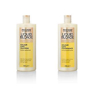 Pro:Voke Liquid Blonde Shampoo and Conditioner