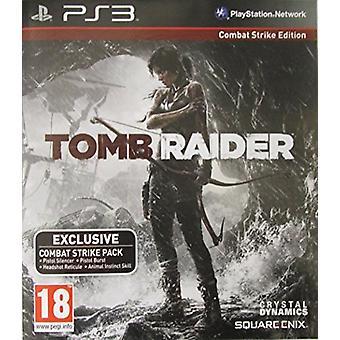 PS3 Tomb Raider- Combat Strike Edition - New