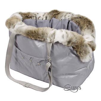 Cupido Luxury Dog Carrier Grey
