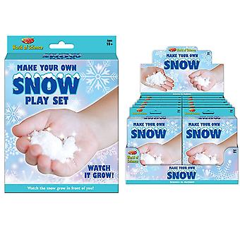 Make Your Own Snow Playset World Of Science