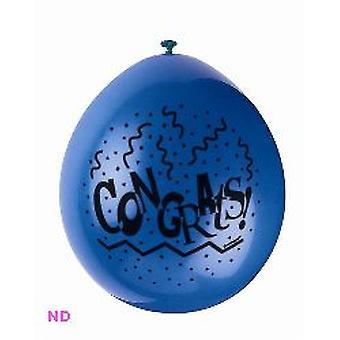 """Ballons FÉLICITATIONS latex 9 """""""