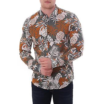 Scotch & Soda Hawaiian Ls Printed Shirt