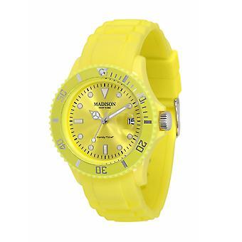 Snoep tijd door Madison N.Y.. horloge mini unisex U4167-18-2