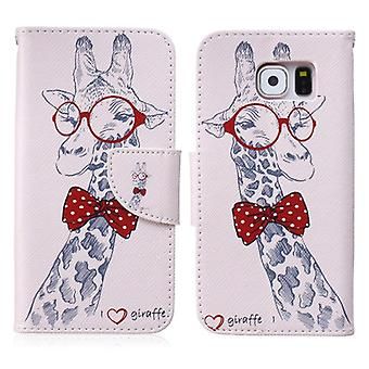 Cover wallet pattern 70 for Samsung Galaxy S6 G920 G920F