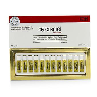 Cellcosmet & Cellmen Cellcosmet Ultra Brightening Elasto-collagen-xt (ultra Brightening Hydra-refirming Cellular Serum) - 12x1.5ml/0.05oz