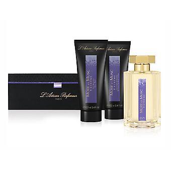 L'Artisan Parfumeur Mure Et Musc Extreme 3Pc GiftSet 3.4Oz EDP BodyWash & Lotion