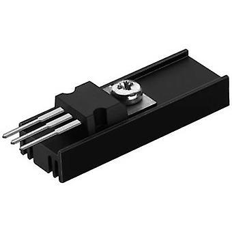 """פישר אלקטרונית SK 95 25 TO 220 מפזר חום 40 K/W (L x W x) 25 x 12.6 x 6.5 מ""""מ עד 220"""