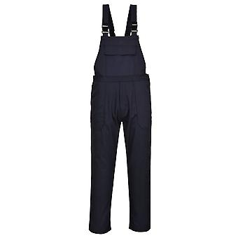 Portwest - Bizweld Flame Resist Safety Workwear Bib and Brace Dungarees
