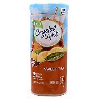 Κρυστάλλινο ελαφρύ γλυκό ποτό τσαγιού μείγμα