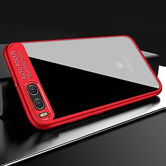 Caso slim ultra para Xiaomi Redmi Nota 4 X funda protectora teléfono rojo