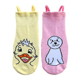 Duck & Seal EZ SOX Socks - 2 Pairs, 3 to 5 Years
