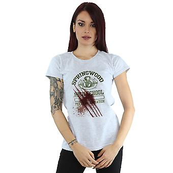 A Nightmare On Springwood Slasher T-Shirt Elm Street féminines