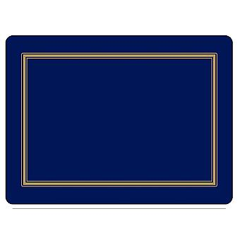 Pimpernel Classic Midnight Blue Placemats Set of 6