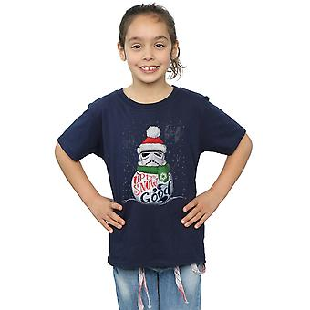 Star Wars Girls Stormtrooper Up To Snow Good T-Shirt