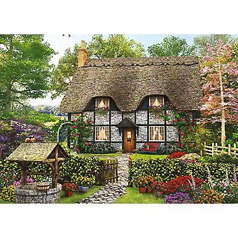 Falcon Deluxe The Florist 's Cottage Jigsaw Puzzle (500 Pieces)