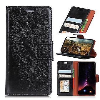 HTC Desire 12+ /12 Plus Plånboksfodral -  SVART