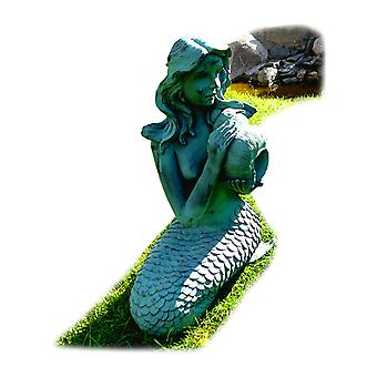 The mermaid, Fountain for the garden 29x26x53 cm