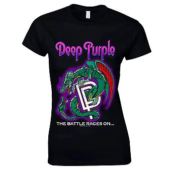 Deep Purple - Battle Rages On  T-Shirt, Kvinnor