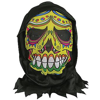 Huid masker W/Hood-Day of the Dead