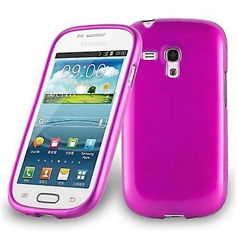 Cadorabo caso para Samsung Galaxy S3 MINI caso capa-telefone móvel caso feito de silicone flexível TPU-silicone caso protetor caso ultra slim Soft tampa traseira caso pára-choques