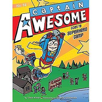 Captain Awesome går till superhjälte Camp