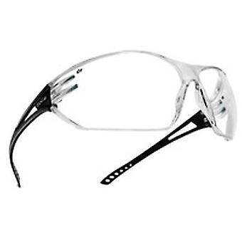 Bolle SLAPSI Slam Spectacles Frame Black Temples Clear Anti-Scratch/Fog Lens
