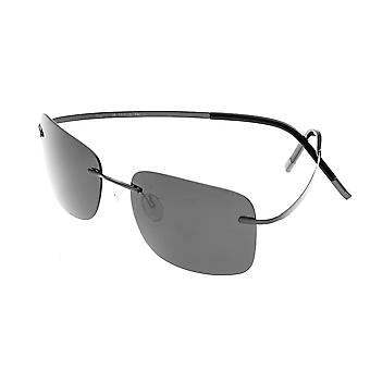 Simplify Ashton Polarized Sunglasses - Black/Black