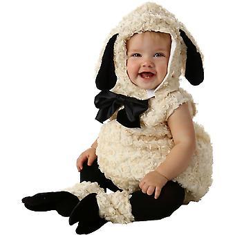 子羊の赤ちゃん用コスプレ衣装