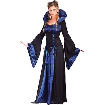 Vampiress Blue Adult Costume