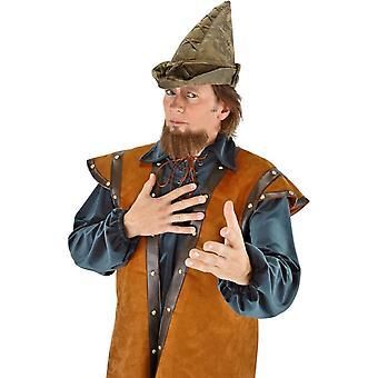 Hat Robin Hood Moss Green For Adults