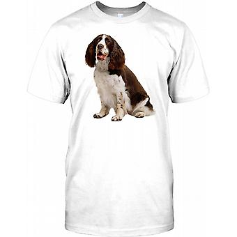Springer Spaniel brugshund - stamtavle børn T Shirt