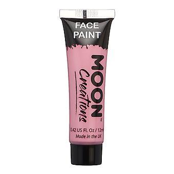 Rosto e corpo pintura por criações de lua - 12ml - rosa