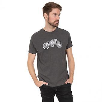 Trespass Mens Motorbike Short Sleeve Graphic T Shirt